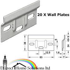 20 X HAFELE KITCHEN WALL CABINET HANGING HANGER BRACKET -1.6mm Plate Thickness