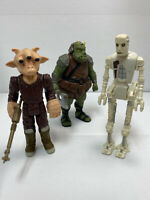 VTG (Loose, 100% Comp.) 1983 Kenner Star Wars 8D8/GAMORREAN GUARD/REE-YEES Lot