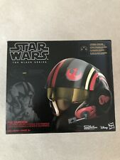 STAR WARS The Black Series Poe Dameron ELECTRONIC X-Wing Pilot HELMET New Sealed