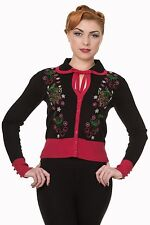 Viscose Collared Floral Jumpers & Cardigans for Women