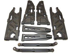 Corally Dementor XP 6S V2 Monster Truck Upper & Lower Suspension Arm Set
