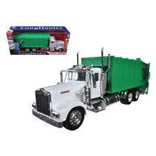 Kenworth W900 Cement Mixer in White 1 32 Scale Moving Parts Diecast Metal and PL