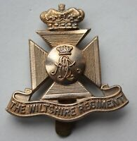 British Army, Wiltshire Regiment Cap Badge.