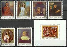 Romania Mint Stamps+Souvenir Sheet Sc#2124-2130 MNH
