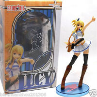 Hot Fairy Tail Lucy Heartfilia 22cm 1/7 Scale Painted Figure New In Box