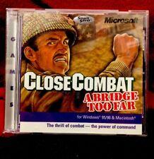 Close Combat A Bridge Too Far Microsoft Windows 95/98