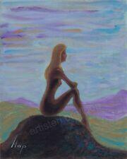 Artisteri / Llop - mini acrílico 'meditación 5' enmarcado 38x34