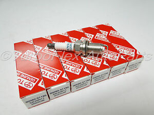 Toyota Lexus Iridium Spark Plug Set of 6 Genuine OEM  90080-91180 SK20R11