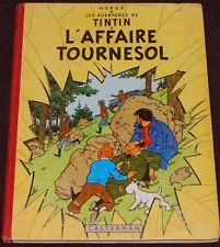 Tintin  -18- / L'affaire Tournesol / EO belge B20  1956 / BE