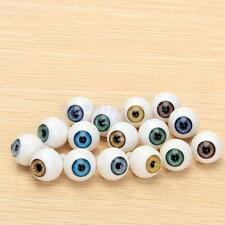 8pcs 14mm Round Acrylic Plastic Eyes Eyeball 4Color for Bear Making Supplies