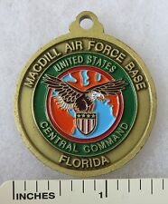 MACDILL FLORIDA US AIR FORCE BASE CHALLENGE COIN / US CENTRAL COMMAND MEDAL