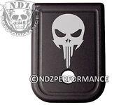 for Glock Magazine Plate 17 19 22 23 26 27 34 35 9mm 40cal NDZ Skull 1