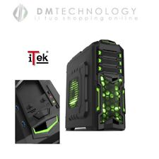 Itek Case Destroyer ATX Usb3.0 Black Gaming
