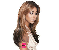 "Isis Brown Sugar Human Hair Style Mix Silk Lace Wig BS603 4""X4"" Lace Front"