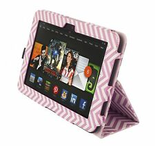 """NEW Kyasi Seattle Classic Tablet Case for Amazon Kindle HD 8.9"""" Wobbly Pink"""