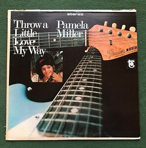 Pamela Miller Throw A Little Love My Way LP 1967 Tower Record Country music Viny