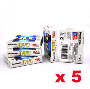 5 Kassette Video Mini Dv Panasonic 60 Min. Sp / 90 Min LP Minidv Kassette
