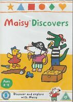 Maisy Discovers. 11 Episodes 58 Minutes, Region 2, 4 & 5. New & Sealed