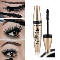 Waterproof Makeup 3D Fiber Long Curling Eyelash Mascara Extension 12ML BLACK