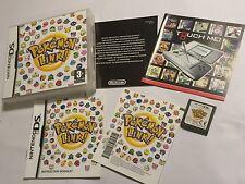 NINTENDO DS DSL DSi XL Pokemon Link version + box & Instructions Complètes UK PAL