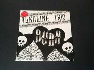 ALKALINE TRIO BURN 2X7 INCH COLOR VINYL SET IMPORT NEW OUT OF PRINT RARE