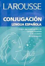 Conjugacion Lengua Espanola