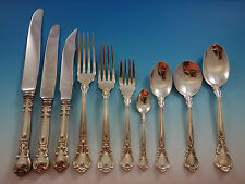Chantilly by Birks Canada Sterling Silver Flatware Set 8 Service 86 Pcs Dinner