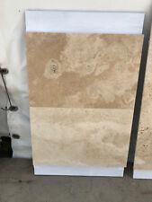 Piastrelle 40,6x61 in pietra travertino per pavimenti e rivestimenti