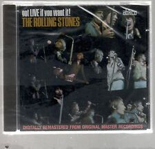THE ROLLING STONES GOT LIVE IF YOU WANT IT! CD F.C .SEALED!