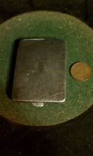 Sterling Silver coin and or card holder