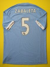 4.8/5 MANCHESTER CITY #5 ZABALETA 2011 UMBRO FOOTBALL JERSEY SHIRT FINAL CUP