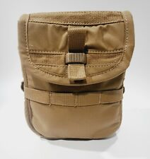 Saw Drum Pouch Coyote New 200 Round (Multiuse) By Granite Tactical Gear