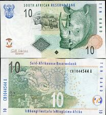 SOUTH AFRICA 10 RAND 2009 P 128 b UNC