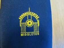 ARNDALE Centre Middleton Manchester Shopping Centre STAFF Issue Mancunian Tie