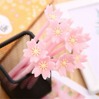 6pcs Cute Cartoon Kawaii Romantic Flowers Gel Ink Roller Ball Point Pen School