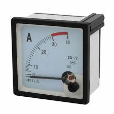 Misuratore amperometro analogico con shunt Installazione contatore 0-30 a DC
