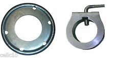 """ROHN Guy Ring and Clamp Assembly for up to 2"""" Antenna Masts - USA Made"""