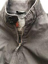 New Baracuta G9 Harrington Jacket Dark CHARCOAL GREY -  Sz. 38 Four Climes