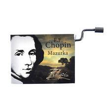 """Chopin in a Box - """"Mazurka"""" Handcrank Music BOX"""