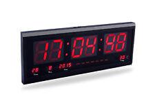 Orologio digitale da parete con datario temperatura display led ufficio JH4600