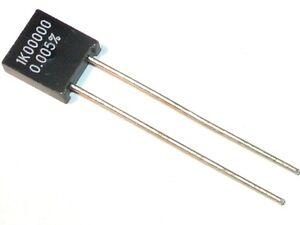 resistenza power metal Vishay pr01 100r 1w 5/% ø2 5x8mm 250ppm #bp 100 PCS