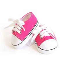 "Hot Pink Tennis Shoe made for 18"" American Girl Doll Clothes"