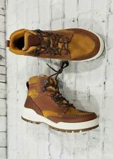 NEW ECCO Track 25 High Gore-Tex Brown Amber Oak Winter Boots MEN'S SIZE 8.5