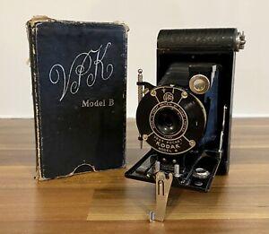 Kodak Vest Pocket Model B Autographic Kodak Folding Bellows Camera Circa 1920's