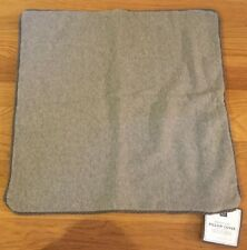 "NEW Pottery Barn Teen Chill Out Sweatshirt 18"" Pillow Cover GRAY"