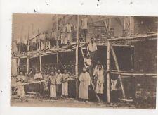 Congo Nsona Mbata Maison Des Enfants Vintage Postcard 967a