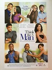 THINK LIKE A MAN movie poster TERRENCE J, MEAGAN GOOD 11 x 17 inches