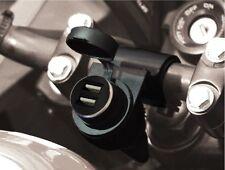 Presa USB Doppia Supporto Manubrio 22/25/28 Battery Controller BC 710-P12USBDUAL