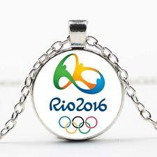 New 2016 Brazil Rio Olympic Games Mascot Pendant necklace Souvenir Gift DD 374