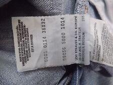 "Levis 501 W36"" L32"" Jeans de calce recto (Original) 251"